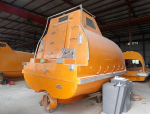 Totally Enclosed Fiberglass Lifeboat Manufacture, Life Boat with Price pictures & photos