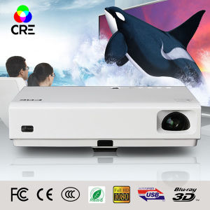 WiFi Android High Brightness 3800 Lumens LED Projector pictures & photos