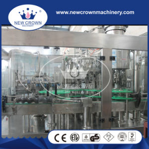Full Auto Stainless Steel Monoblock Soft Drink Filling Machine for Glass Bottle pictures & photos