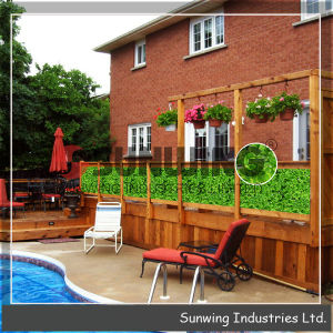 Hot Selling Decorative Grass Plastic Artificial Plant Fence pictures & photos