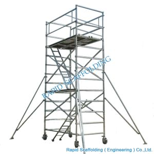 Construction Mobile Aluminum Scaffold Tower pictures & photos