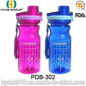 550ml Promotional Tritan Water Bottle with Double Lid (PDB-302) pictures & photos