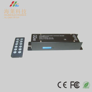 12-24VDC IR Wireless DMX512 5A*3CH Dimming Driver pictures & photos