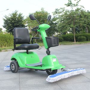 New Type Three Wheel Electric Dust Sweeper with Seat (DQT9) pictures & photos
