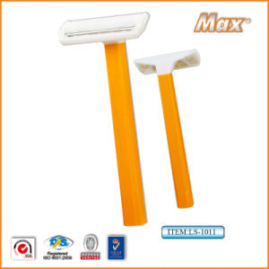 Single Stainless Steel Blade Disposable Shaving Razor (LS-1011) pictures & photos