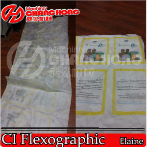 Non Woven Fabric Roll to Roll Printing Machine pictures & photos