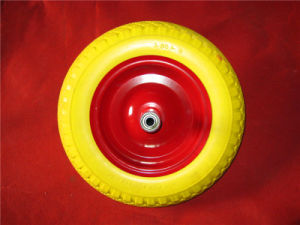 Shock Price PU Foam Wheel 3.00-8 for Wheelbarrow Use