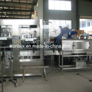 Shrink Sleeve Labeling Machine for Bottle Body and Bottle Mouth (WD-ST150) pictures & photos
