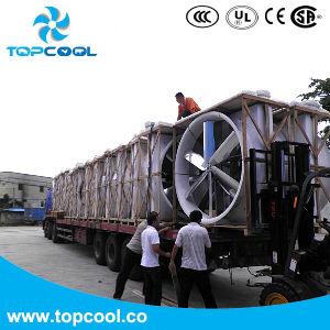 Gfrp 55 Inch Exhaust Fan Wall Cone Fan Belt Drive Fan with Shutter pictures & photos