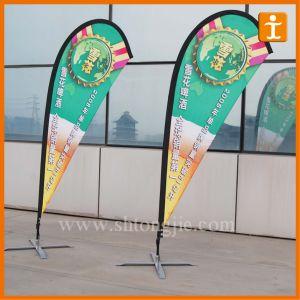 Strong Carbon Composite Beach Flag Pole/Feather Flag (TJ-11) pictures & photos