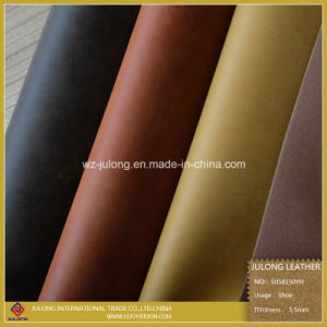 PU Faux Leather for Shoes (S058) pictures & photos