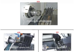 Most Popular High Quality CNC Lathe Cutting Tools New Heavy Duty CNC Lathe Machine Price pictures & photos