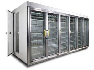 6- Glass Door Walk in Refrigerator pictures & photos