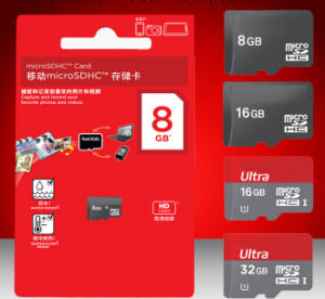 High Speed Bulk TF/T-Flash/ Micro SD Memory Card From 512MB/1GB/2GB/4GB/ 8GB/16g/32g/64GB-128GB pictures & photos