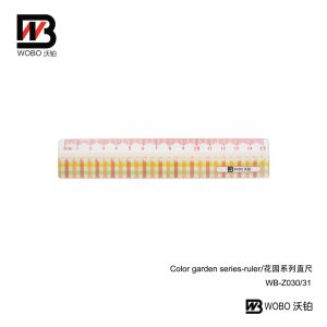 Office Supplies Plastic Cartoon Flat Ruler for Stationery Use pictures & photos