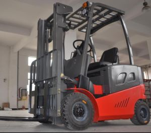 4-Wheel Electric Forklift Truck pictures & photos