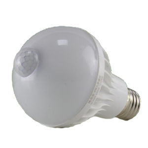E27 Motion Sensor Lamp, PIR Infrared LED Lamp pictures & photos