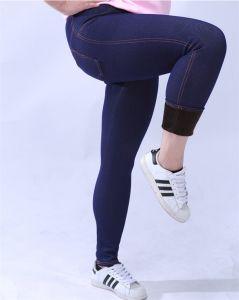 P1292 Winter Plus Size Women Skinny Fitness Fleece Elastic Legging pictures & photos