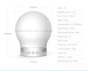 LED Table Lamp Smart Mini Bluetooth Speaker pictures & photos