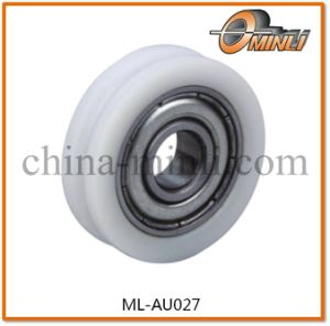 U Groove Nylon Bearing Plastic Pulley for Furniture (ML-AU027) pictures & photos
