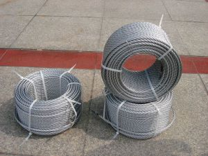 Galvanized Steel Wire Rope 8X19s+FC for Elevator and Crane pictures & photos