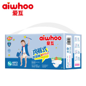 Breathable Sleepy Baby Diapers Manufacturer (AW015) pictures & photos