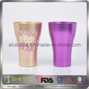 Metal Aluminum Color Drinking Cup pictures & photos