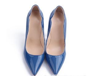 New Arrival Fashion High Heel Women Pumps (HS07-34) pictures & photos