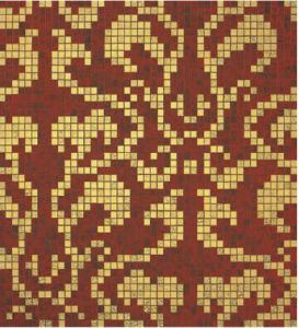 Bisazza Gold Mosaic Pattern Tile for Wall Decoration (HMP647) pictures & photos