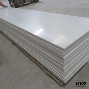 Pure White Composite Stone Artificial Stone Solid Surface with Ce pictures & photos