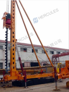 Foot-Step Long Auger Drilling Rig (KLB series) pictures & photos
