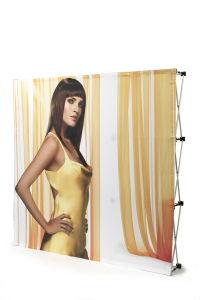 Fabric Pop up Display 4X3 3X3 Adjustable Stand outdoor Indoor pictures & photos