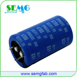 High Voltage Capacitor Fan Capacitor 2700UF 350V pictures & photos