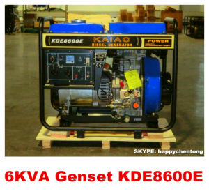 5.5kw/6kVA Air Cooled Open Frame Diesel Generator 100% COOPER Hot Sale! pictures & photos