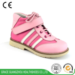 Orthopedic Children Leather Shoes (4612455-3) pictures & photos