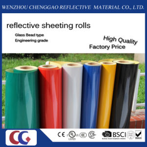 Free Samples Reflective Sheeting Reflective Film for Traffic Sign (C1300-O) pictures & photos