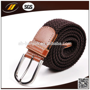 New Fashion Ployester Elastic Braided Belts for Ladies (HJ0176) pictures & photos