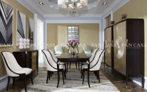 High Quality Classical Wooden Diningroom Furniture (MS-A6050A)