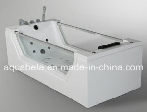 2015 New Style CE Approved Glass Jacuzzi Massage Bath Tub (JL824) pictures & photos