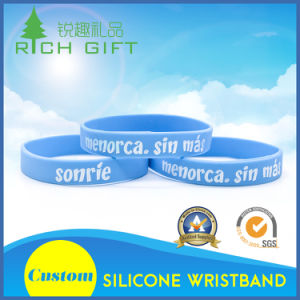 Custom Cheap High Quality Tide Fashion Silicone Bracelet for Team pictures & photos