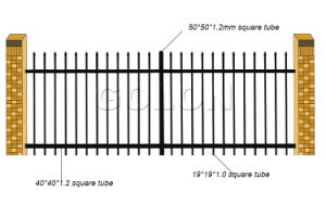 Free Sample High Quality Balcony Guardrail pictures & photos