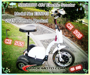 500W/ 800W Power 3 Wheel Mobility Zappy Electric Scooter pictures & photos