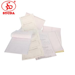 Special Paper Invoice Bill Computer Printing Paper pictures & photos