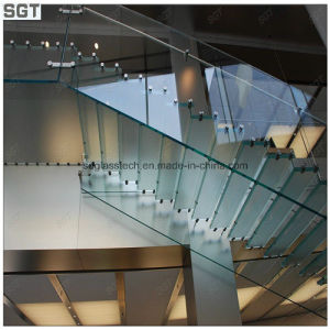 Normal Clear Float Tempered Tabletop Panel Glass Railing Glass pictures & photos