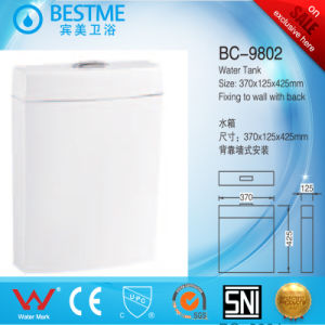 Wall Hung Plastic PP Toilet Tank Bathroom Accessories (BC-9802) pictures & photos