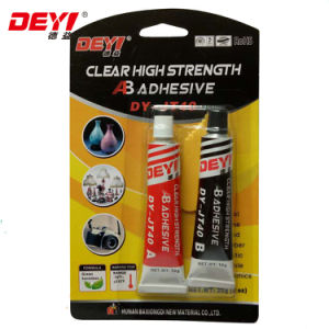 Dy-Jt40 Transparent Modified-Acrylic Ab Adhesive Glue pictures & photos