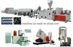 PVC Pipe Making Machines for Electric Drainage and Water Supply pictures & photos