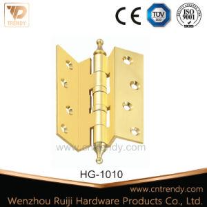 "Furniture Hardware Hinge Fold Angle Brass Hinge (4"" 6"" 8"") pictures & photos"