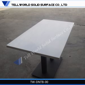 New Design Curved Dining Marble Table Top Tea Table/Corian Coffee Table
