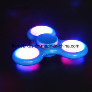 Relief Fidget Spinner with LED Light Finger Spinner pictures & photos